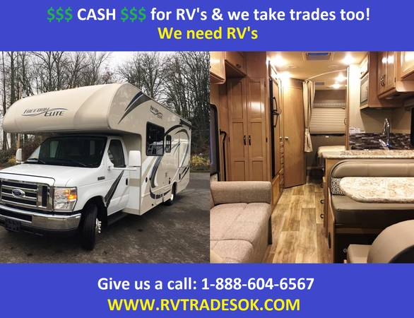 Photo 2018 Thor Freedom Elite - Also Chateau, Born Free, Winnebago - $54995 (30 small rv39s to choose from)