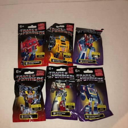 Photo ALL 6 Hasbro Transformers Limited Edition mini figures - $15 (Albany - porch pickup near Waverly)