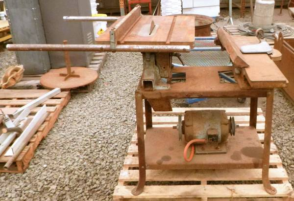Photo Delta Rockwell Table Saw  Jointer Combination - $120 (Albany)