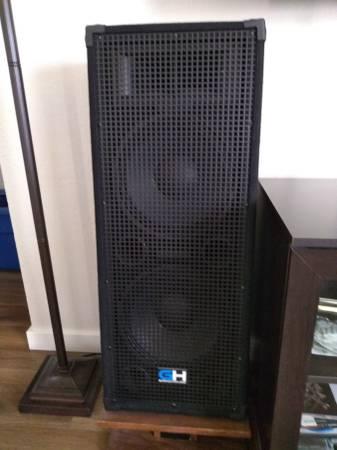 Photo Dual 12 inch cone 625 Watt Speakers - $175 (Lebanon)