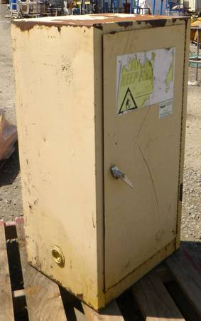 Photo Eagle Flammable Liquid Safety Cabinet, 16 Gal., 23-14quot x 18quot x 44quot - $150 (Albany)