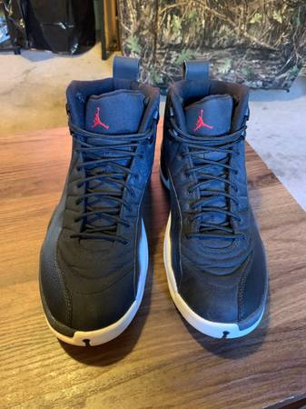 Photo Jordan 12 Retro Nylon mens size 12 - $230 (Corvallis)