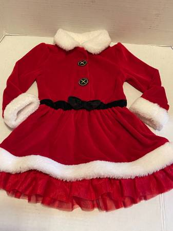 Photo Koala Kids red velour Christmas dress 18-24 mo - $10 (Albany - porch pickup off Waverly near Lexington Park)