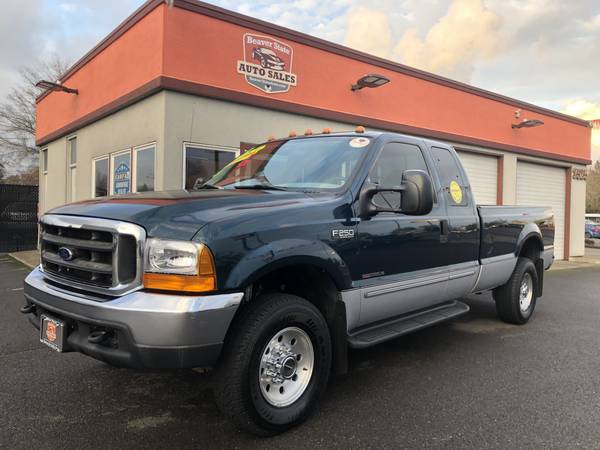 Photo Low Miles 7.3 Turbo Diesel 1999 Ford F250 Extra Cab XLT 4WD Long Bed - $16880 (Albany)