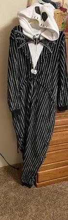 Photo Nightmare before Christmas jack skellingron pajamascostume - $10