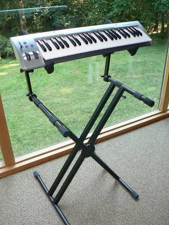 Photo Proline PL402 2-Tier Double X-Braced Keyboard Stand - $95 (N. Corvallis)