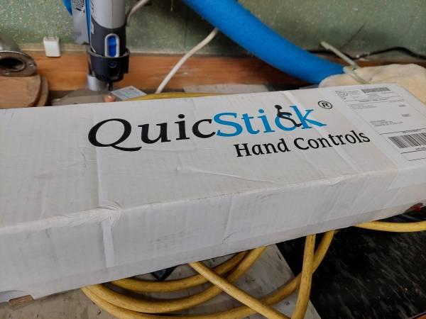 Photo Quicstick Hand Controls, second set of hand controls - $100 (Lebanon)