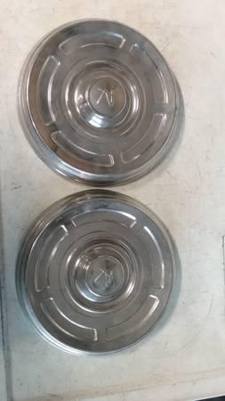 Photo Rambler dog dish hubcaps - $20 (Corvallis)