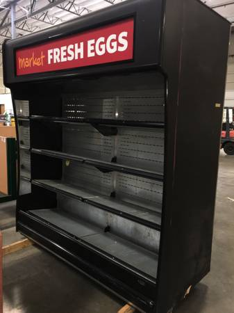 Photo Refrigerator Open Display Self-Contained Cooler Plug and Play Grab-N-Go - $2,275 (Portland)