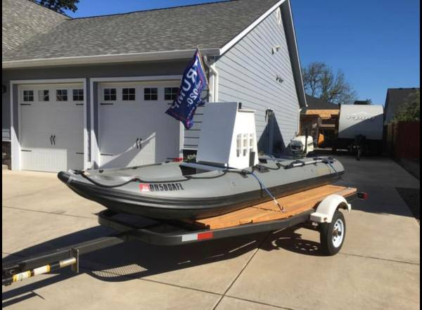 Photo Saturn Alaskan Heavy Duty 15 Boat with Trailer - $1,800 (Lebanon)