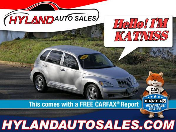 Photo WE ARE OPEN 2005 CHRYSLER PT CRUISER ONLY $500 DOWN  HYLAND AUTO (HELPING FOLKS W BAD CREDIT IS WHAT WE DO)