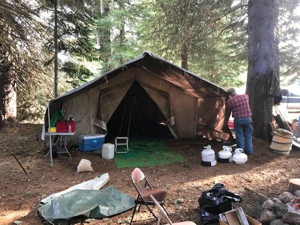 Photo Wall Tent - canvas - $1200 (Lebanon)