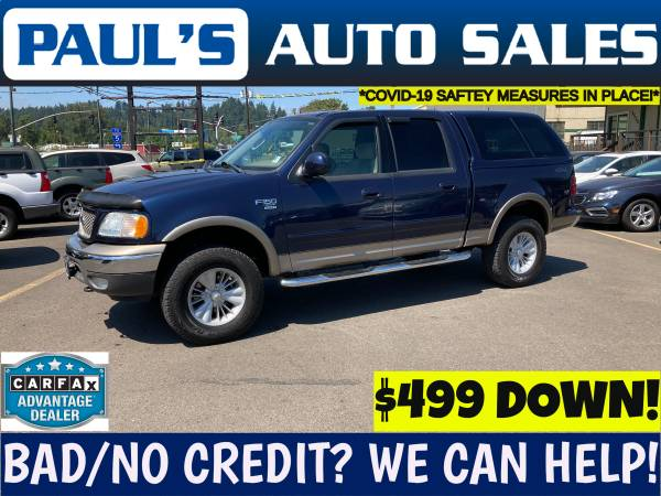 Photo 2003 FORD F150 SUPER CREW 4X4  SALE SALE SALE  - $14,990 (BAD CREDIT IS NO PROBLEM HERE)