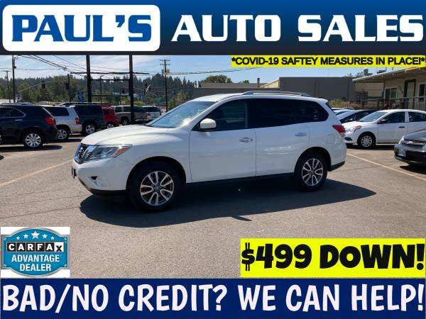 Photo 2013 NISSAN PATHFINDER SV 4X4  3RD SEAT  - $12,990 (BAD CREDIT IS NO PROBLEM HERE)