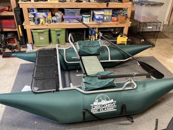 Photo inflatable pontoon boat  cover - $350 (PHILOMATH)