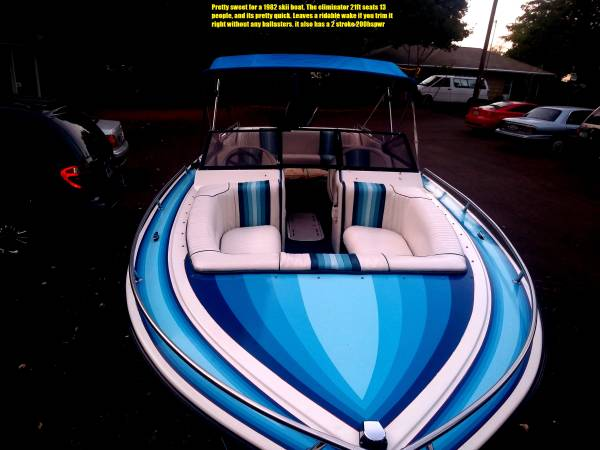 Photo skii boat for sale - $8000 (albany)