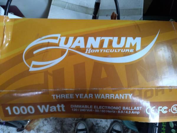 Photo 1000 watt ballast - $75 (Fountain)