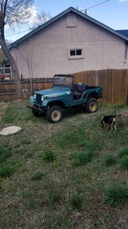 Photo 1966 jeep cj5 v6 35,000 miles - $6000 (Colorado springs)