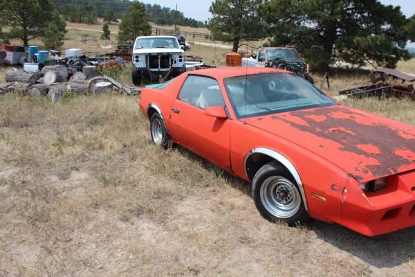 Photo 1984 Chevrolet Camaro - $3,500 (North Black Forest)