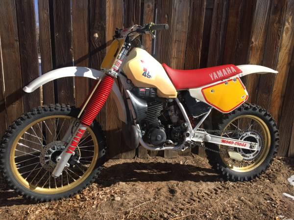 Photo 1987 Yamaha Yz490 - $2600