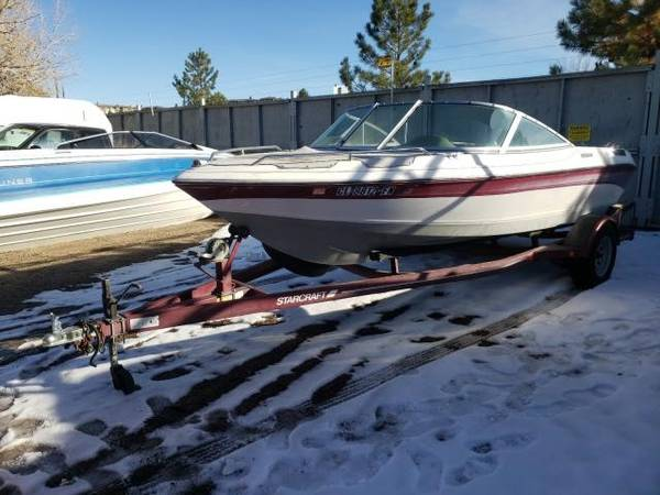 Photo 1992 Starcraft Elite 171SS Open Bow Boat - $3,000 (Monument)