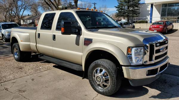 Photo 2008 FORD F350 DIESEL  DUALLY  NAV ONLY 114K MILES4WD - $22499 (COLORADO SPRINGS)