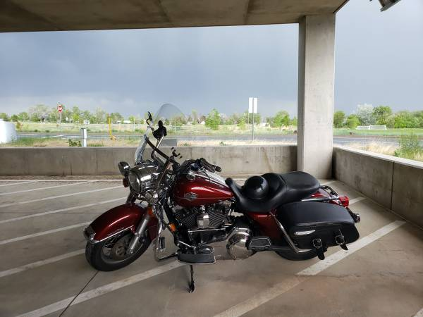 Photo 2008 Harley Davidson Road King Classic - HD - $6,500 (Castle Rock)