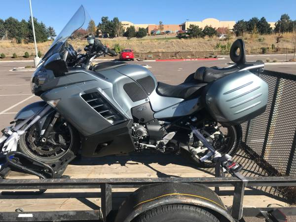 Photo 2008 Kawasaki Concours 1400 - $3,900 (Black Forest)