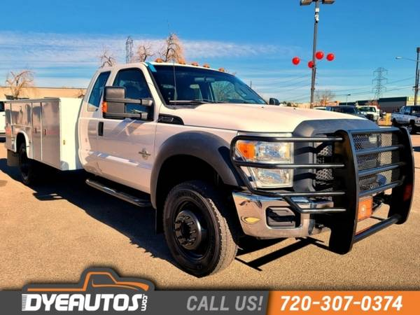 Photo 2012 Ford Super Duty F-550 DRW Chassis Cab XL diesel dually 4x4 utilit - $36,999 (_Ford_ _Super Duty F-550 DRW Chassis Cab)