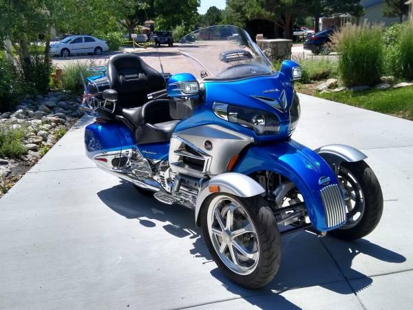 Photo 2012 Honda Goldwing - $18,500 (Colorado Springs)