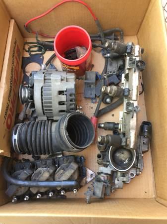 Photo 92 Chevy Beretta 3.1 liter parts injectors, radiator, coil packs  mo - $40 (Caon City)