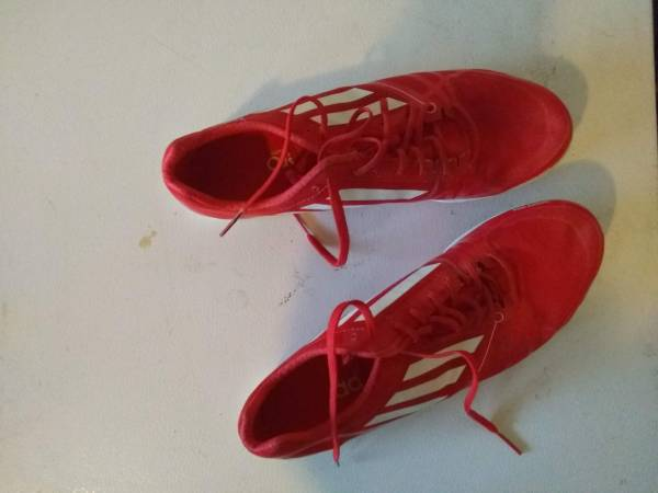 Photo Adidas Adizero Track cleats Mens Size 10 - $20 (Colorado Springs or Falcon)
