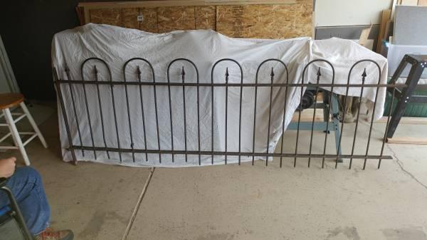 Photo Antique Iron Fence 51 Feet - $500 (Colorado Springs)
