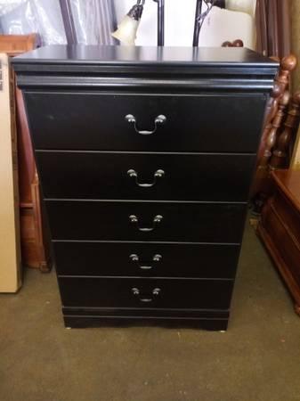 Photo Ashley Furniture Black Dresser - $100 (Colorado Springs)