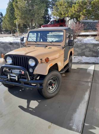 Photo CJ5 Jeep with winch with hard and soft top - $11500 (Colorado Springs)