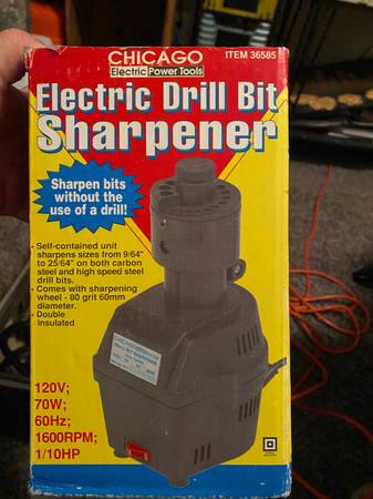 Photo Chicago Electric Drill Bit Sharpener - $25 (Colorado Springs)