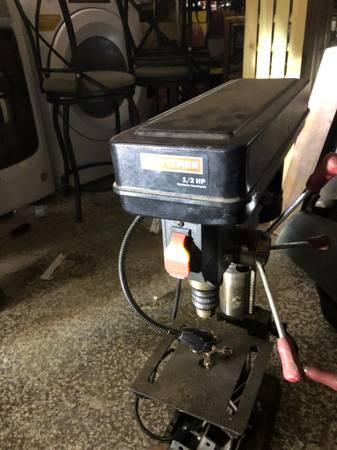 Photo Craftsman Drill Press - $120 (Colorado Springs)
