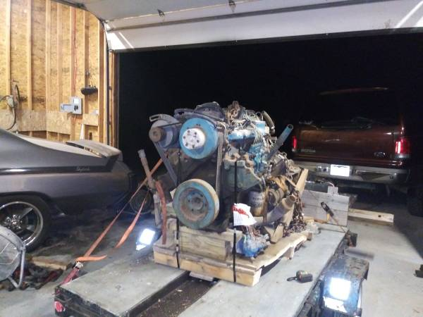 Photo DT360 turbo diesel engine (and an old COE) - $2500 (Southwest CoSprings)