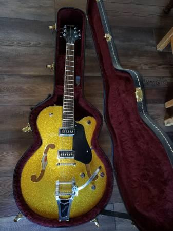 Photo Gretsch G5128 Electromatic gold sparkle - $475