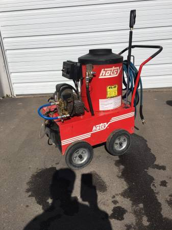 Photo Hotsy Used 660 120 Volt Hot Water Pressure Washer - $1900 (Commerce City)