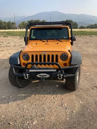 Jeep Wrangle JK - $29,500 (Salida)