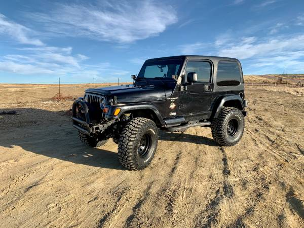 Photo Jeep Wrangler TJ G2 Dana 44 Axles, ARB Lockers, 4.88 Gears - $14500 (Colorado Springs)