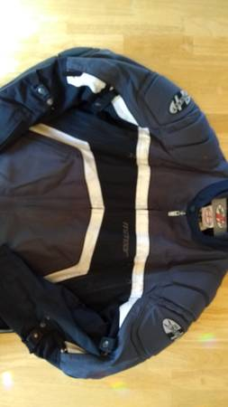 Photo Men39s XL Joe Rocket Textile Motorcycle Jacket with Removable Liner - $75 (Ivywild)