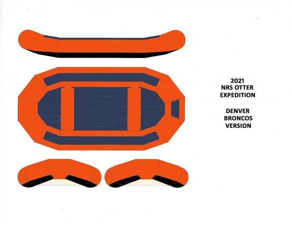 Photo NRS Custom Otter - Denver Broncos Colors - $4,995 (Montana)