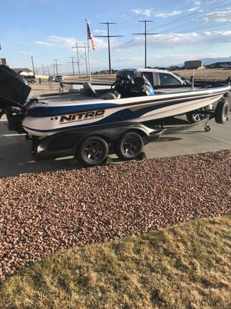 Photo Nitro bass boat - $17,500 (Colorado Springs)