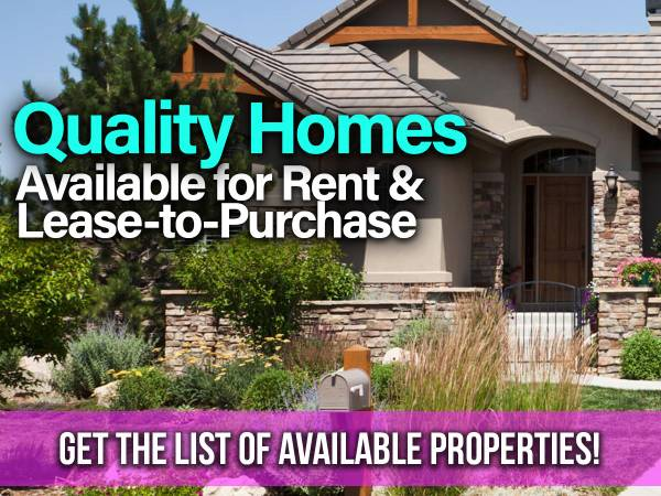 Photo Rent to Own Opportunities
