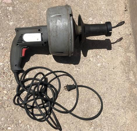 Photo Ridgid Model K-39 AF Drain Cleaner With AutoFeed 2539 Cable - $90 (N. Union  Academy)