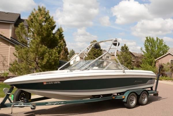 Photo Supra Santera Launch Wakeboard, Surf, and Waterski Boat - $22,500 (Highlands Ranch)