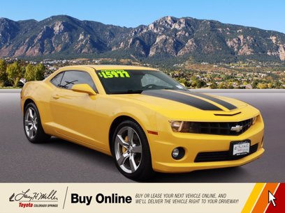 Photo Used 2010 Chevrolet Camaro SS Coupe w 2SS for sale