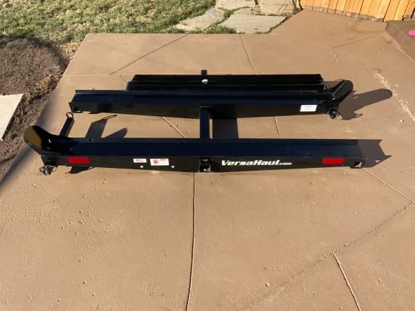 Photo Versa Haul Dual motorcycle carrier with r - $450 (Colorado Springs)